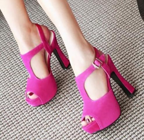 Hot Pink T Riemen