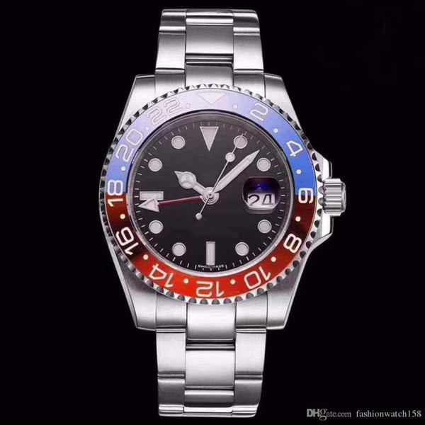 Hot sell special Greenwich II series 116710 automatic mechanical stainless steel 40mm luxury men's watches