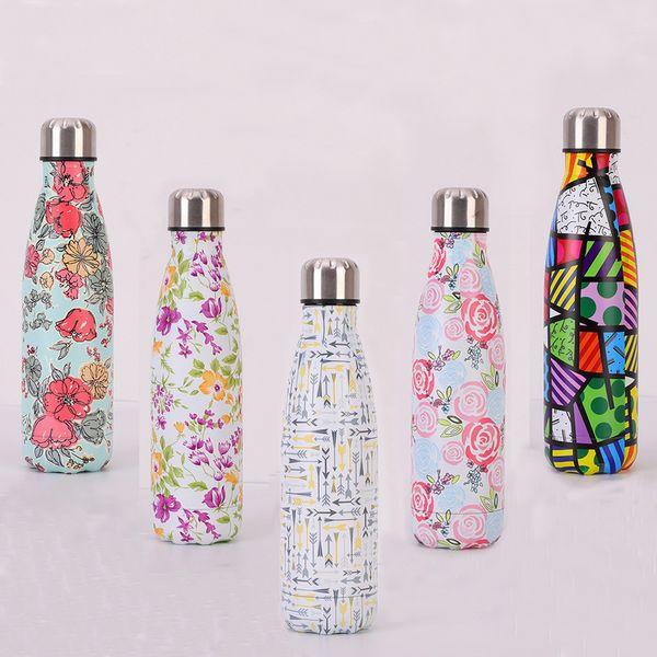Edelstahl Vakuumisolierte Wasserflasche Flasche Thermal Sports Chilly 500ML Beste Qualität Willkommen Großhändler Kauf