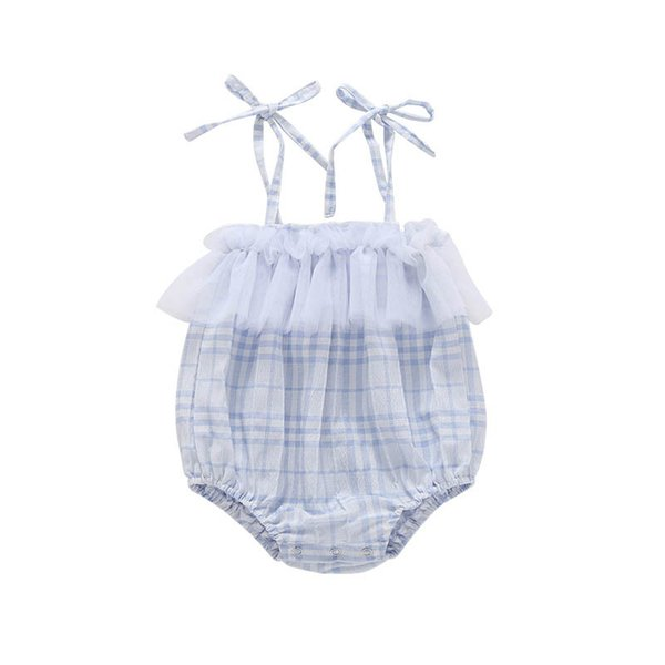 Lace baby romper Summer newborn romper newborn baby girl clothes baby infant girl designer clothes Infant Jumpsuit princess rompers A5704