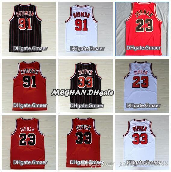 online retailer 0c4e3 7ef17 2019 Bulls Mens #23 45 Michael Jerseys Scottie Pippen 91 Rodman Zach LaVine  Bulls Jerseys Embroidery Stitched Jerseys From Goodluck006, $18.9 | ...