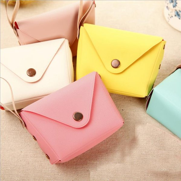 British style cute candy color small coin purse coin bag key bag creative macarons hand bag