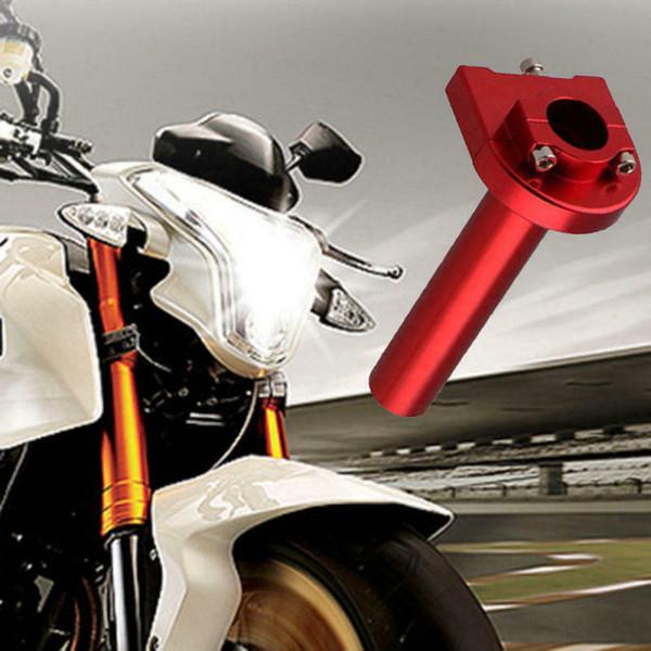 "Universal 7/8""22mm Motorcycle Throttle Twist Grip CNC Aluminum Handlebar Scooter"