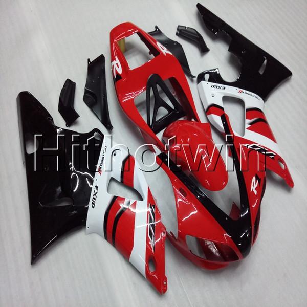 Gifts + Screws rote Motorradabdeckung für Yamaha YZF-R1 98 99 YZFR1 1998 1999 ABS-Kunststoffverkleidung