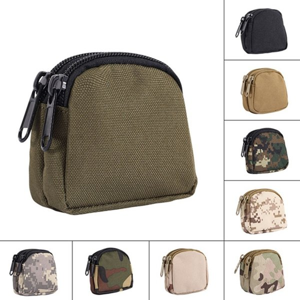 tactical waist bag multifunctional waterproof bag military key coin purses utility pouch organizer molle pouch camping #359498