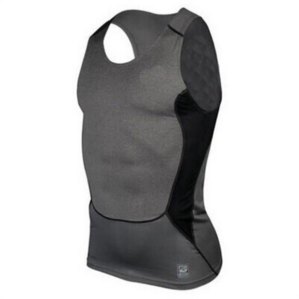 Strong Bodybuilding Fitness Men's Stringer Vest Top Men Compression Tight Tee Shirts Men Tank Tops Shirt