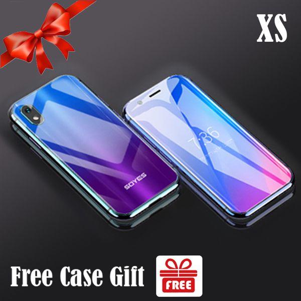 Orijinal SOYES XS Mini Smartphone 3 GB 32 GB Android 6.0 1580 mAh Yüz Tanıma 4G Mobil Wifi GPS Cam Vücut Yedekleme Çift Sim Kartları Cep Telefonu