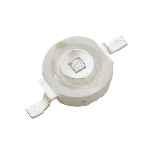 Fichas de LED perlas de alta potencia UV 3W 5W Bombilla de luz LED 365 380 390 395 400 410nm LG CHIP Estructura vertical 100 piezas