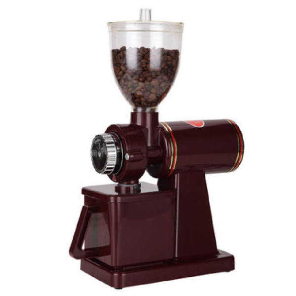 Wholesale 110V/220V Electric Coffee Grinder Grain Cereal Spices Miller Coffee Bean Grinding Machine 8 Gear