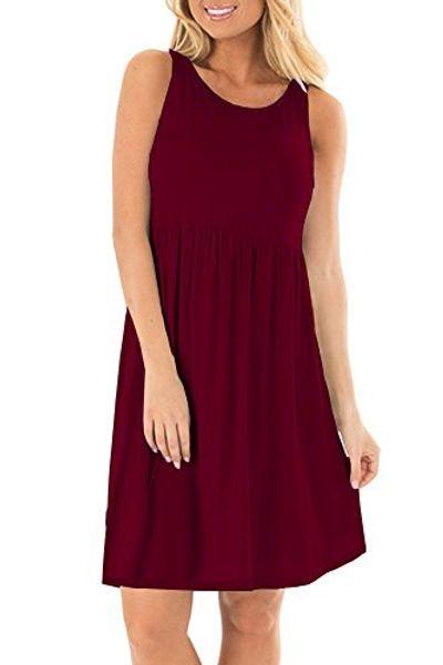 AUSELILY Платья без рукавов с длинными рукавами для женщин