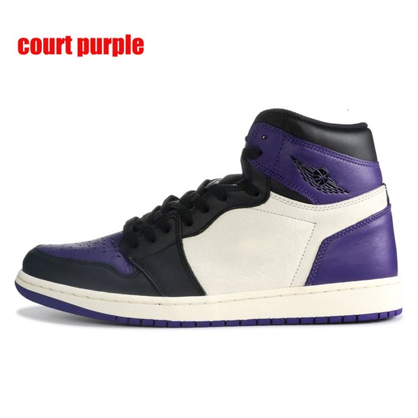 court purple with black symbol