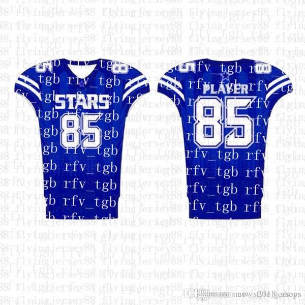 Top Mens Embroidery Logos Jersey Free Shipping Cheap wholesale Any name any number Custom Football Jerseysuu2