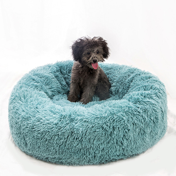 Hairy Pet Kennel with Plush Warm Little Dog Cat - Cojín de cama para Kitty Teddy Schnauzer Winter Fall Pet Pads con 12 colores