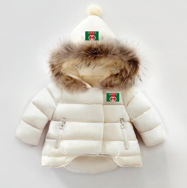 1-6 Years Old Baby Winter coats jackets Boys Girls Hand Plug Of Cotton Cotton-padded kids winter down jacket Factory Cost Cheap Wholesale