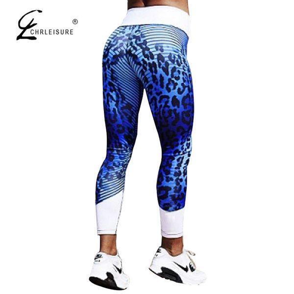 Chrleisure Sexy Leopard Printed Leggings Women High Waist Push Up Legging Fitness Sportswear Leggins Pants Women 2 Colors S-xl Y19072901