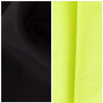 black yellow green customized