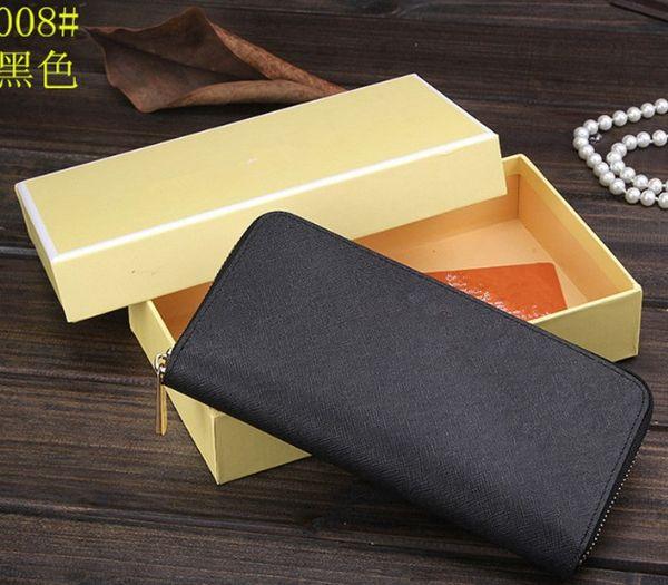 Berühmte design M lady echtes leder handtasche lange brieftasche marke weibliche reißverschluss handtasche mode weibliche geldbörse brieftasche kreuz muster brieftaschen