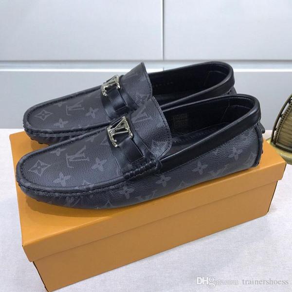 hommes de luxe chaussures high-top de la mode baskets classiques femmes Flats chaussures habillées chaussures habillées de haute qualité