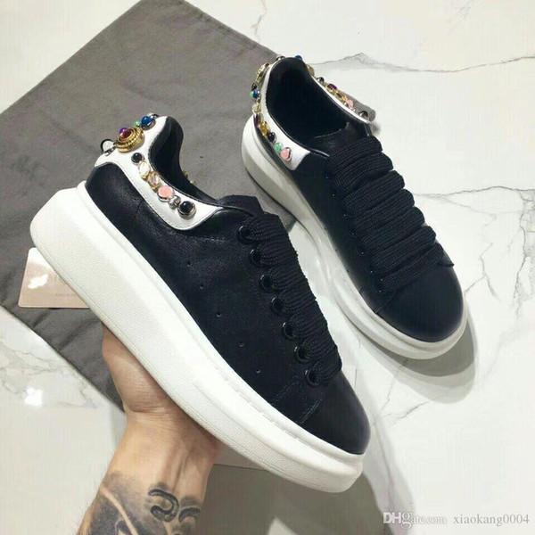 Zapatos de diseñador de lujo Zapatillas de deporte de diseñador de lujo Zapatillas de moda para hombre para mujer Zapatos de cuero casuales ydyl19041507