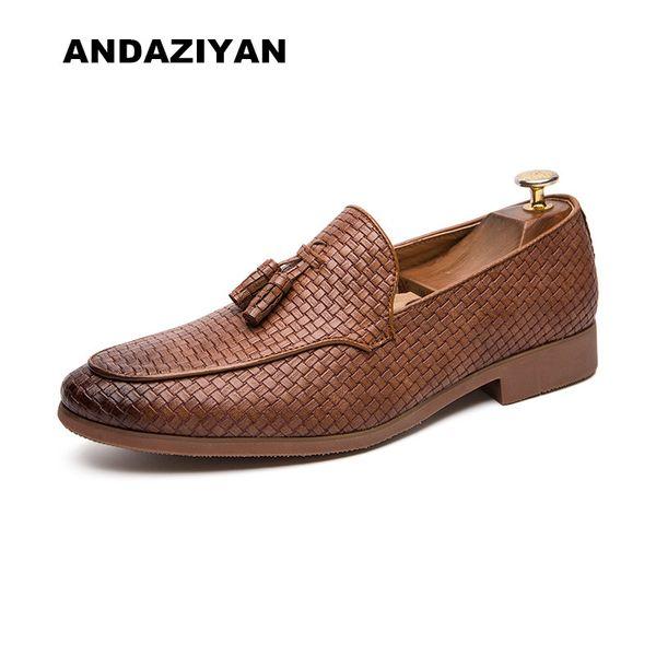 Compre Zapatos Casuales Con Flecos Para Hombres, Con Tendencia Europea Y Americana. Zapatos De Hombre. A $62.37 Del Bokulu | DHgate.Com