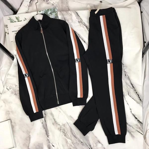 LL мужчин женщин костюмы Кофты костюмы Дорогих Спортивный костюм Толстовки Куртки Пальто мужские Medusa Спортивная толстовка Tracksuit куртка наборы