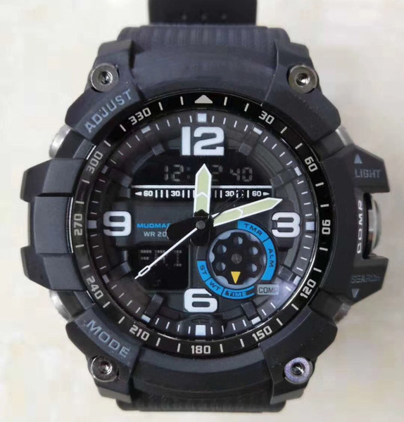 2018 new 12 color gg1000 compa thermometer army men 039 port watch military all function hock re i t water wri twatch with box