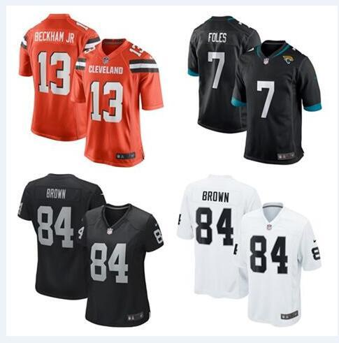 big sale c5b21 a5fef 2019 Nick Foles Jersey Odell Beckham Jr Antonio Brown Cleveland Oakland  Browns Raiders Dee Ford Custom American Football Jerseys Pro Bowl From  Dh125, ...