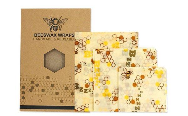 3 * Bienenwachs Tuch-Stil 6
