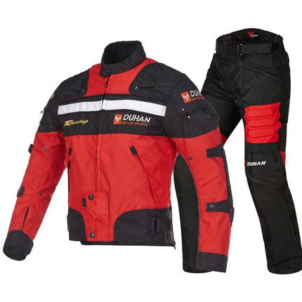 DUHAN Motorcycle Racing Motocross Jackets&pants suits 600D Oxford Drop Resistance Pad jacket
