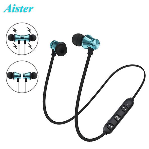 XT11 Bluetooth Écouteurs Casque Sans Fil Magnétique Écouteur Écouteurs pour Téléphone Portable Sport SweatProof Casque avec Emballage de Vente au Détail