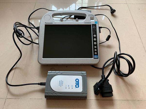 pour scanner de diagnostic toyota otc it3 avec ordinateur portable cf-h2 i5 écran tactile 4g prêt à l'emploi