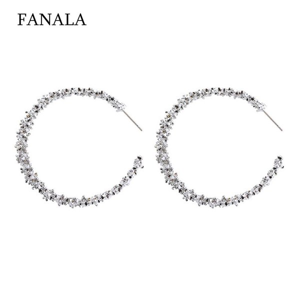 New Women Fashion Earrings Jewelry Trendy Casual, Party, Dating Artificial Gem Pair of Charm Wedding Gift