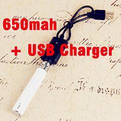 eGo-T 650mah Battery +USB Charger