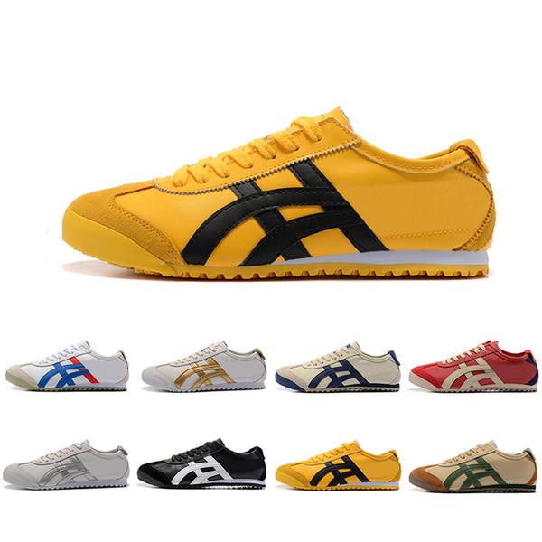 Großhandel Neue Onitsuka Tiger Laufschuhe Für Männer Frauen Athletic Outdoor Stiefel Marke Sport Herren Trainer Sneaker Designer Schuhe Größe 36-44