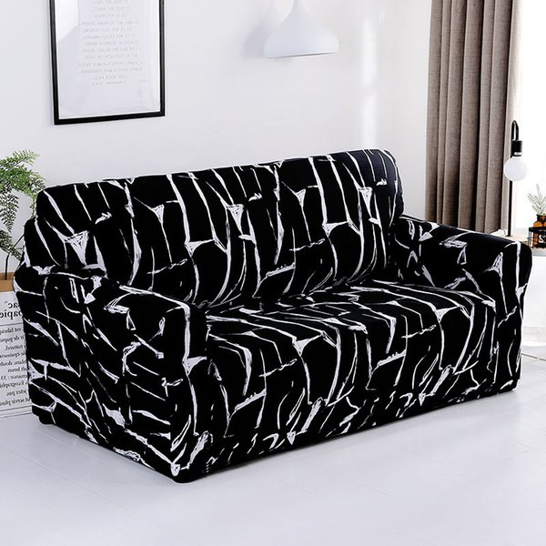 Magnificent Modern Elastic Stretch Sofa Covers For Living Room Sofa Couch Slipcovers 1 2 3 4 Seater Sectional Covers Housse De Canap Dining Room Chair Slipcover Creativecarmelina Interior Chair Design Creativecarmelinacom