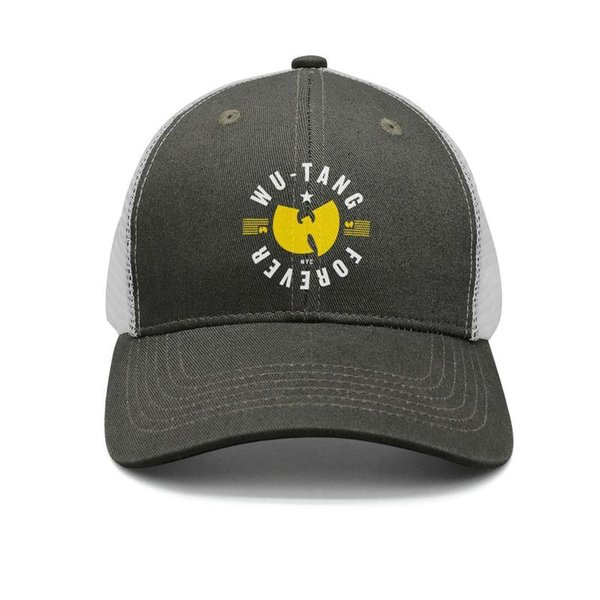 Wu Tang clan Forever army-green mens and womens trucker cap baseball styles custom sports hats