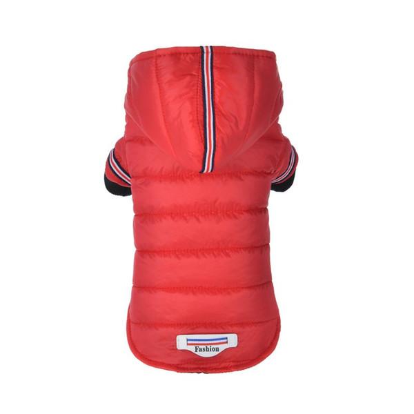 Winter Hund Kleidung Warme Daunenjacke Wasserdichte Mantel Hoodies für Chihuahua Kleine Mittelgroße Hunde Welpen Beste Verkauf XS-XL