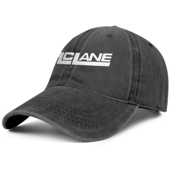 McLane Logo Transparent schwarz Herren und Damen Denim Cap Trucker Cap Ball Stile benutzerdefinierte personalisierte Hüte schwarz