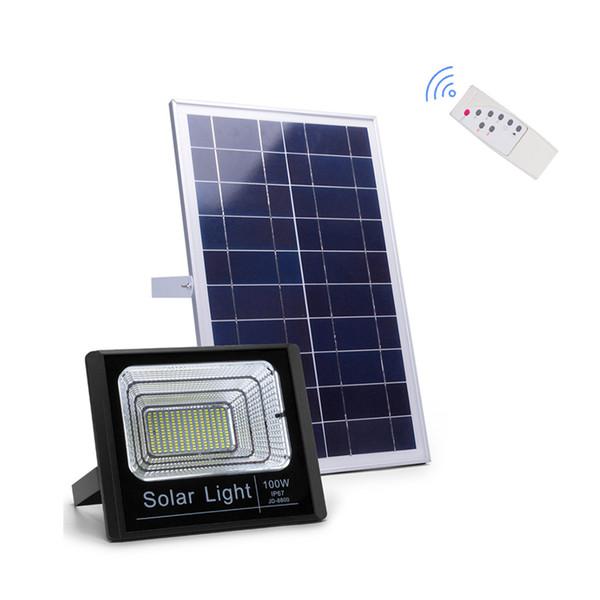 Solar Power LED Applique 56 / 100Leds Mouvement PIR Projecteur étanche Intérieur Extérieur Projecteur Jardin Lumière Avec 5M Câble