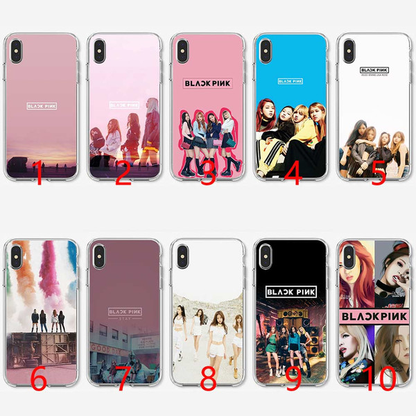 Blackpink K Pop Girl Soft Silicone TPU Phone Case for iPhone 5 5S SE 6 6S 7 8 Plus X XR XS Max Cover
