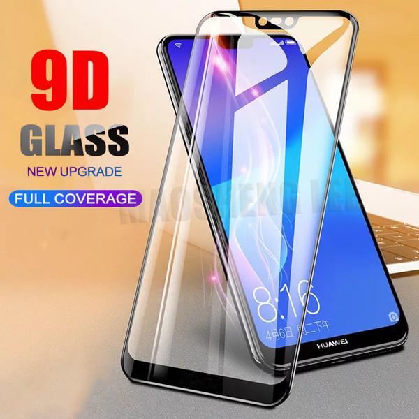 9D Curved Glass pour Xiaomi Mi9 9T Pro 8 Mix3 Film de protection écran Redmi Note 7 pour Oneplus 7 Film de protection en verre