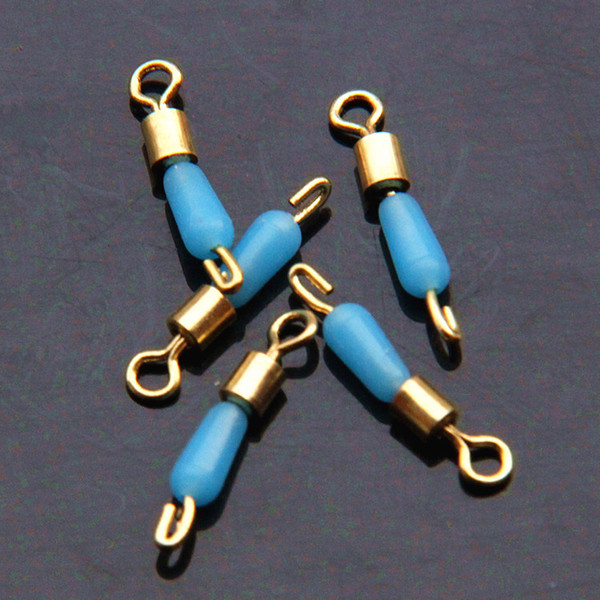 Wholesale S/M/L Swivel Solid Rings Anti-wrapped Silica gel Fishing Connector Tackles Ocean Boat Fishing Hooks Fishing Gear Gadgets
