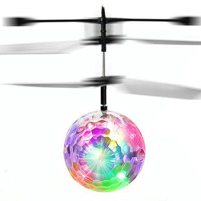 2019 Colorful Flying Ball RC Luminous Kid's Flying Balls Anti-stress Drone Helicopter Infrared Induction Aircraft Remote Control Toys
