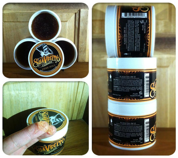 top popular Suavecito Pomade Strong Style Restoring Pomade Hair Wax Skeleton Slicked Hair Oil Wax Mud Keep Hair Pomade Men and Women. 2021