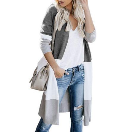 Womens Designer Cardigan Pulls à rayures pour les filles jeunes Marque OL Casual Hauts Manteau de Pull 2019 New Style Tendance Explosion