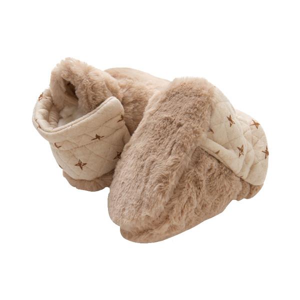 Zapatos para niños de color algodón, zapatos de paso para bebés, suelo de algodón para niños pequeños de 1 a 1 años de fondo suave antideslizante otoño invierno