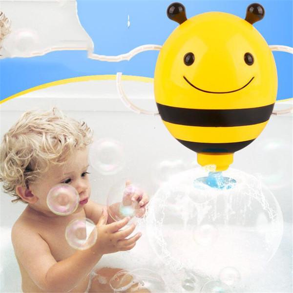 Cartoon Animal Baby Bath Toy Bathroom Plastic Mini Bee Water Fountain Shower Kids Bathtub Playing Bathing Tools For Baby Gifts SH190912