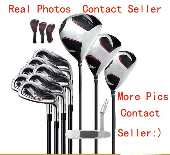 Fa t hipping full et golf club m 3 m4 g 400 complete et golf driver fairway wood golf iron golf putter headcover