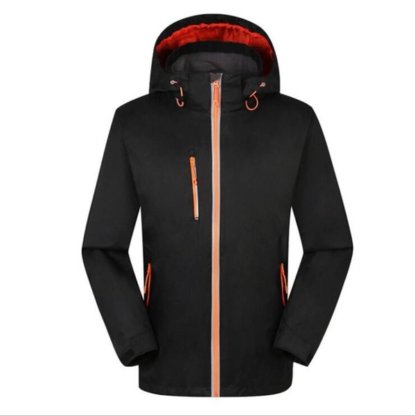 Outdoor men and women jackets detachable windproof waterproof mountaineering clothes