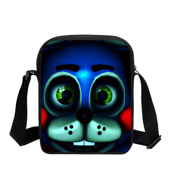 2019 Cute Handbags Cartoon Five Nights At Freddy School Messenger Bags For Children Schoolbag Boys Girls Kids Shoulder Bag Gifts